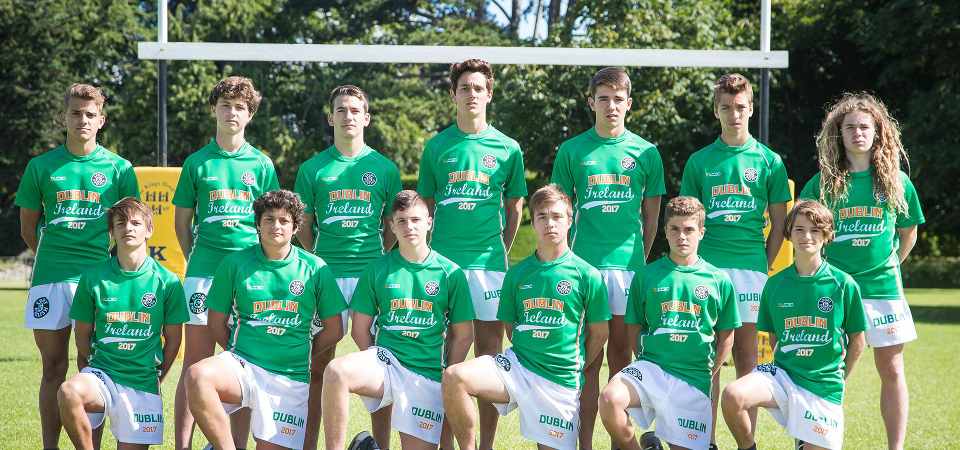 Campus de rugby en irlanda